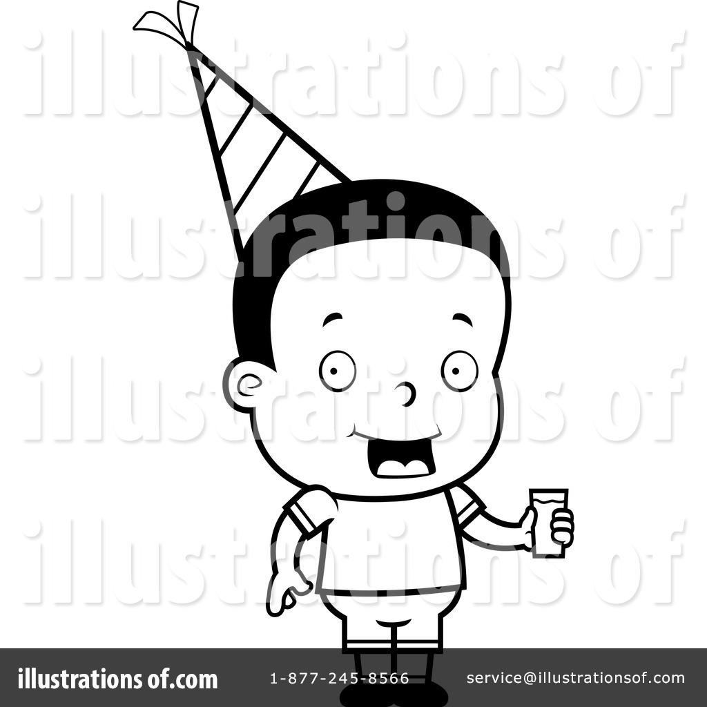 Birthday Boy Clipart 1156076 Illustration By Cory Thoman