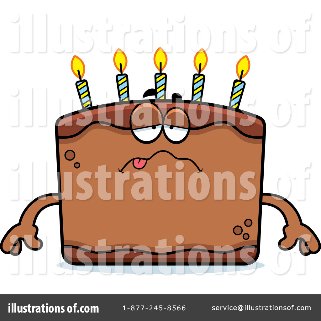 Royalty Free Birthday Images ~ Birthday cake clipart illustration by cory thoman