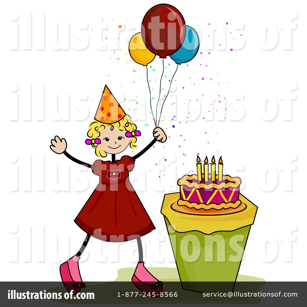 Royalty Free Birthday Images ~ Birthday clipart  illustration by bnp design studio