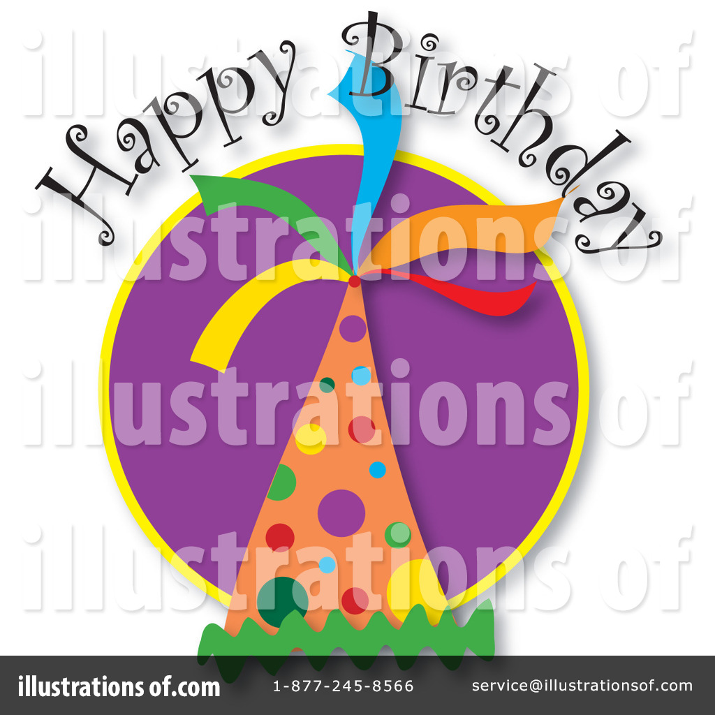 Royalty-Free (RF) Birthday Clipart Illustration by Maria Bell - Stock