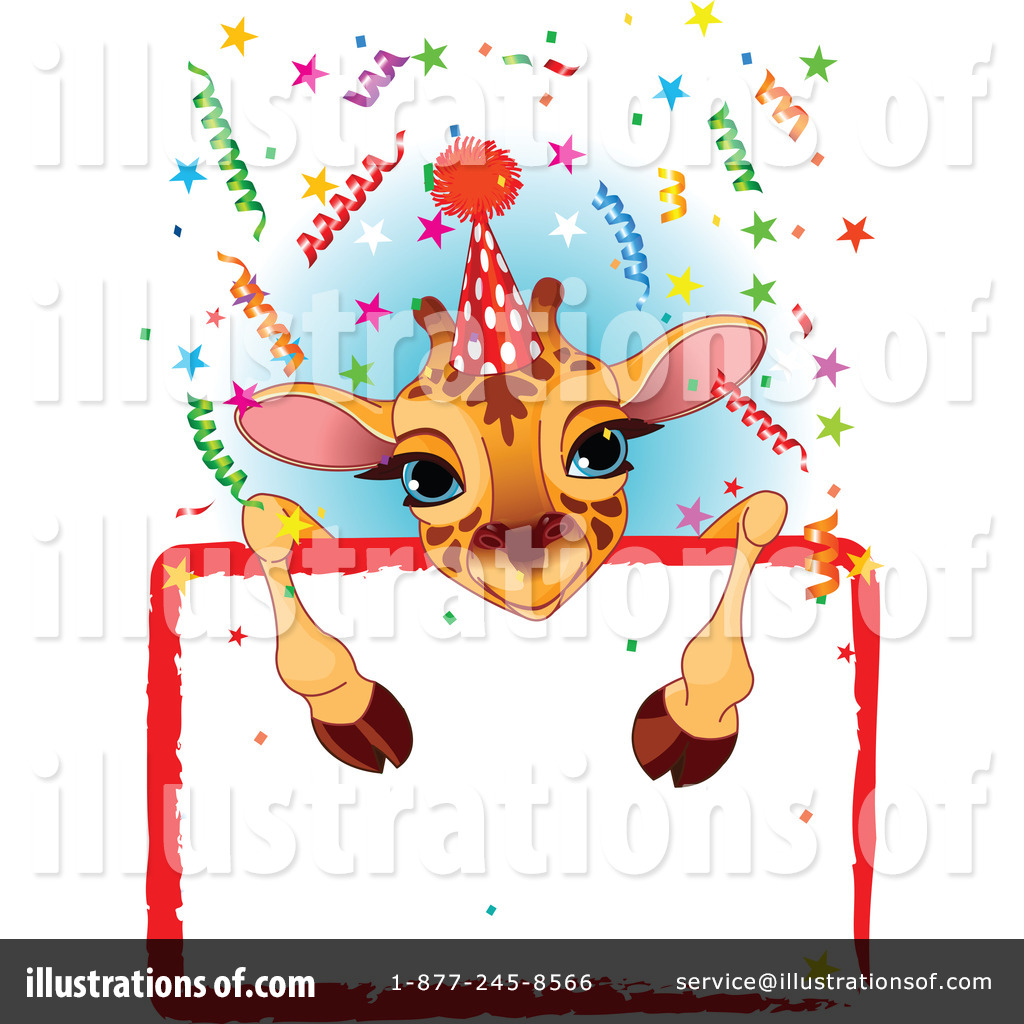Royalty Free Birthday Images ~ Birthday clipart illustration by pushkin