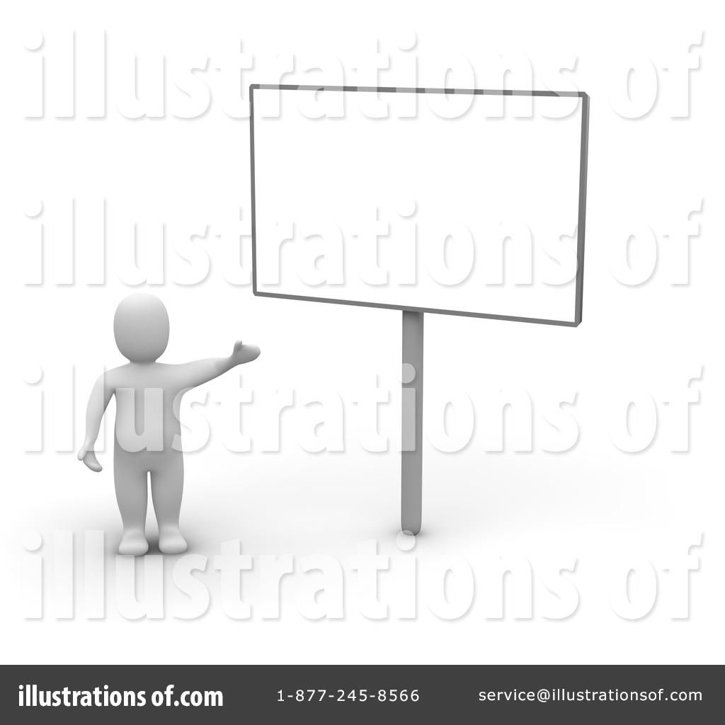 Blank Sign Clipart #44974 - Illustration by Jiri Moucka