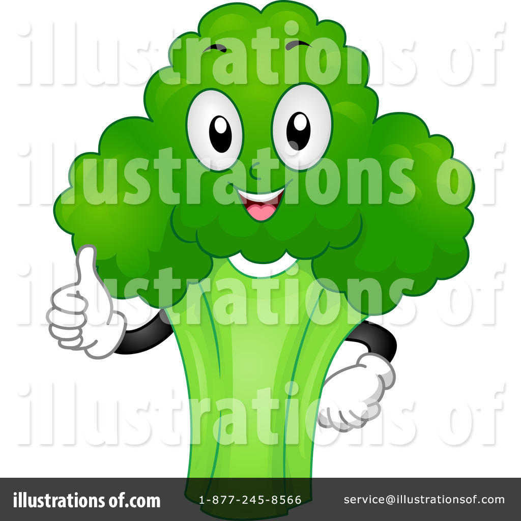 Royalty-Free (RF) Broccoli Clipart Illustration #1127611 by BNP Design ...