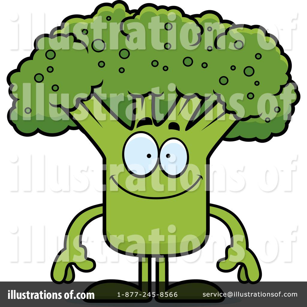 Broccoli Clip Art Black And White (rf) broccoli clipart