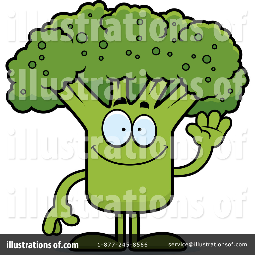 Royalty-Free (RF) Broccoli Clipart Illustration by Cory Thoman - Stock ...