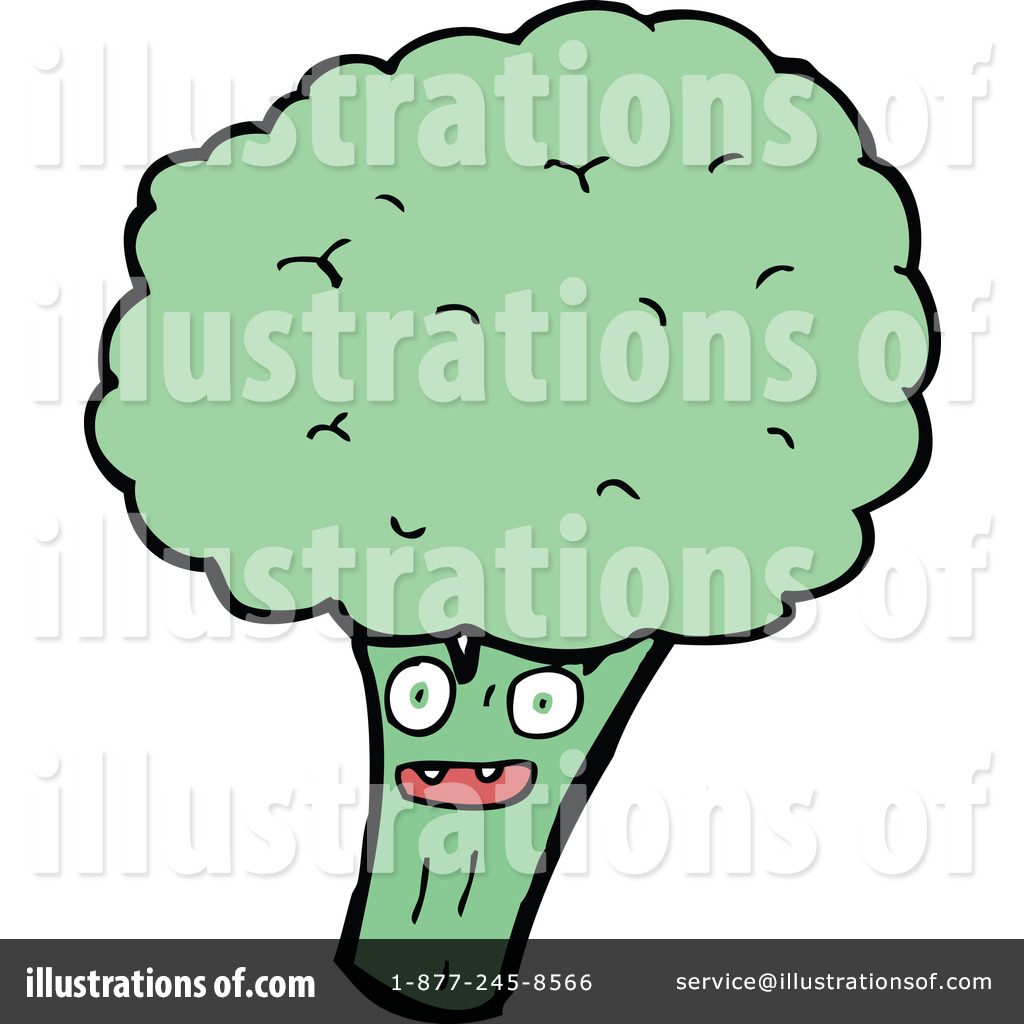Broccoli Clipart #1177234 by lineartestpilot | Royalty-Free (RF) Stock ...