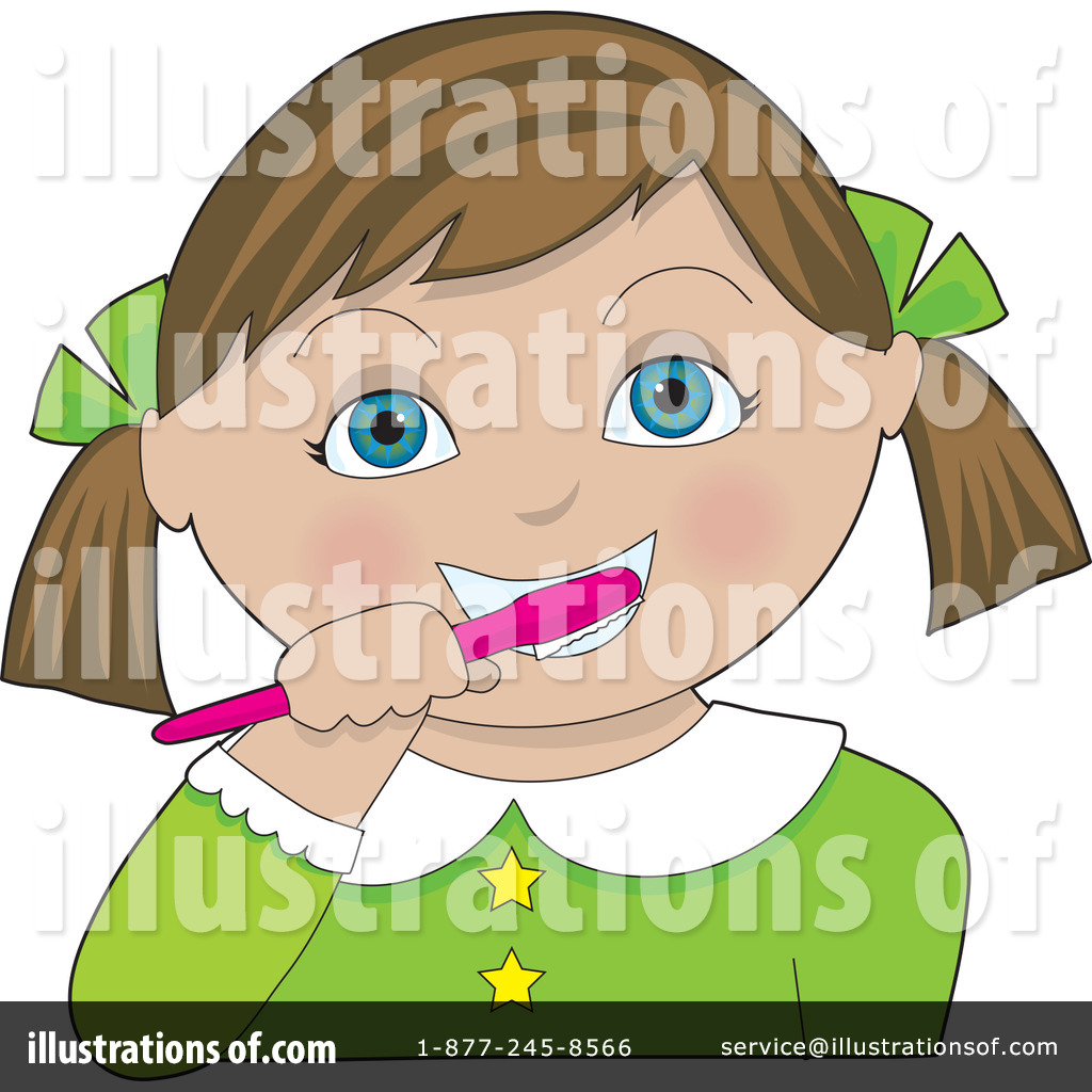 brushing teeth clipart 16208 illustration by maria bell rh illustrationsof com child brushing teeth clipart brush teeth clipart images
