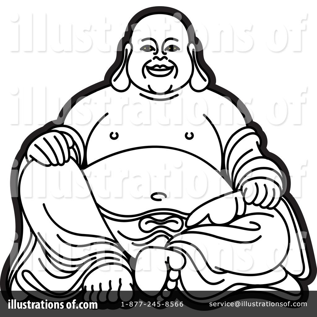 fat buddah coloring pages - photo#14