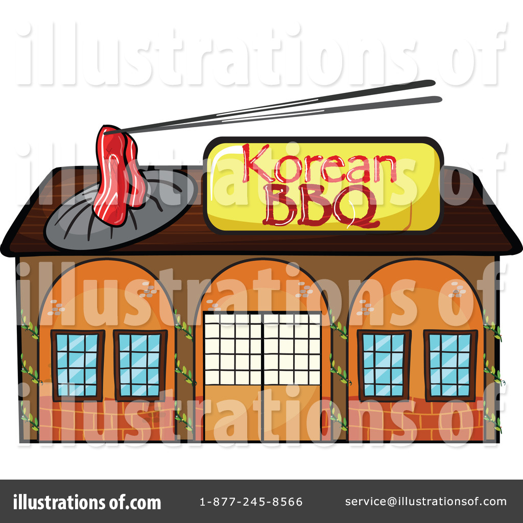 Clip Art Storefront Clipart illustration by