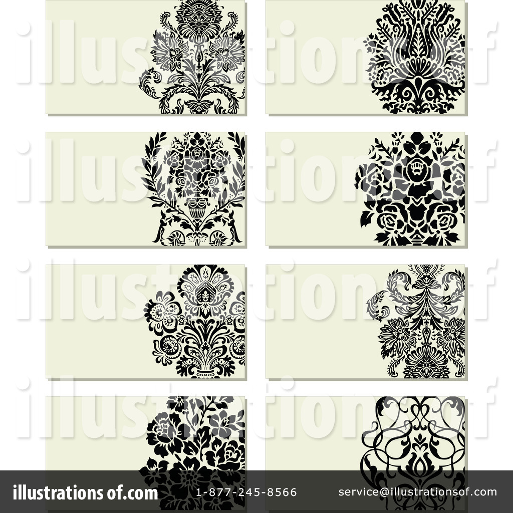 Business Card Clipart #1107830 - Illustration by BestVector