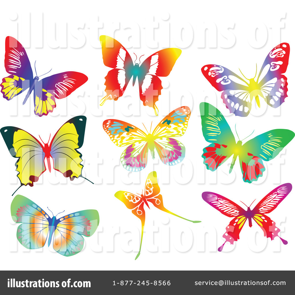butterfly clipart 79628 illustration by leonid