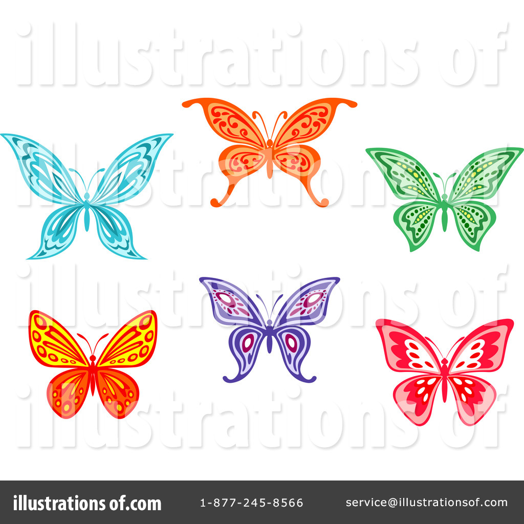 butterfly clipart 1124867 illustration by vector tradition sm