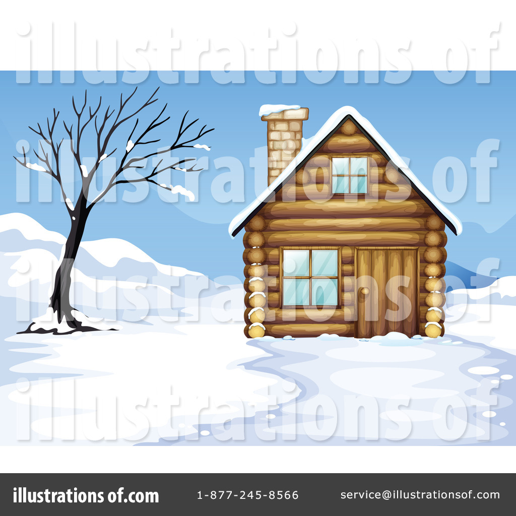 Royalty Free RF Cabin Clipart Illustration 1132832 By Graphics