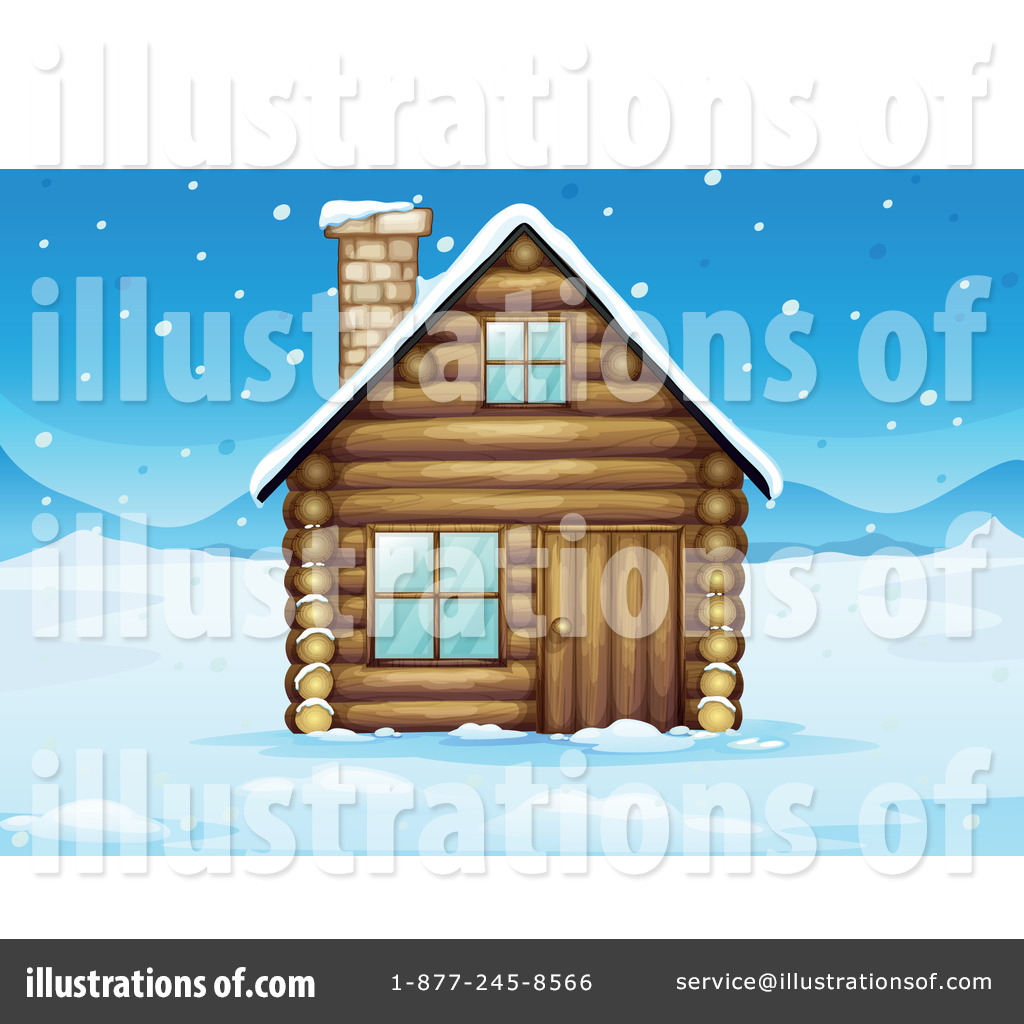 Royalty Free RF Cabin Clipart Illustration 1132836 By Graphics