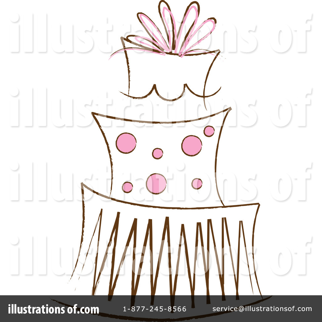 Cake Clipart Illustration by Pams Clipart