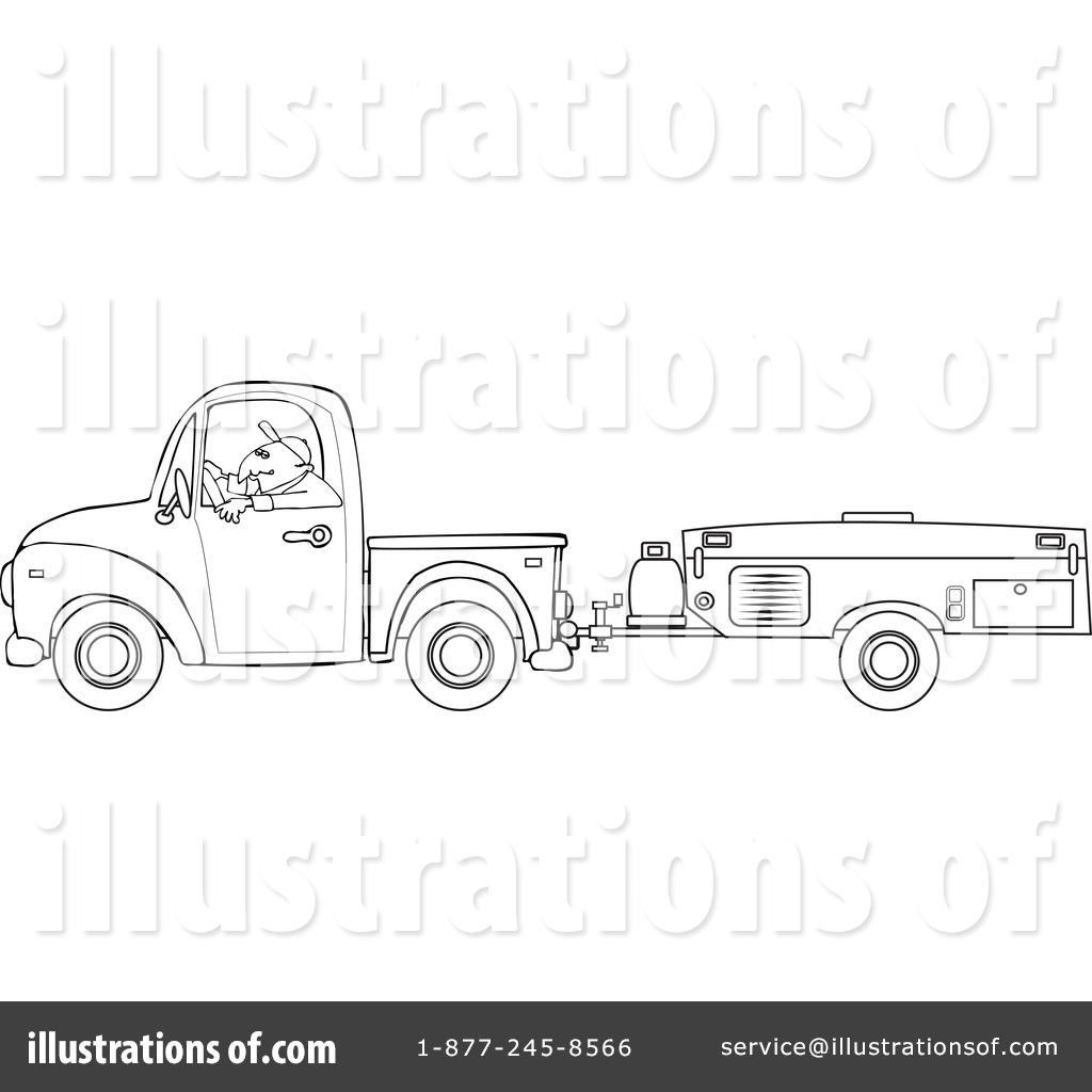 Camper Clipart 1127732 Illustration By Djart