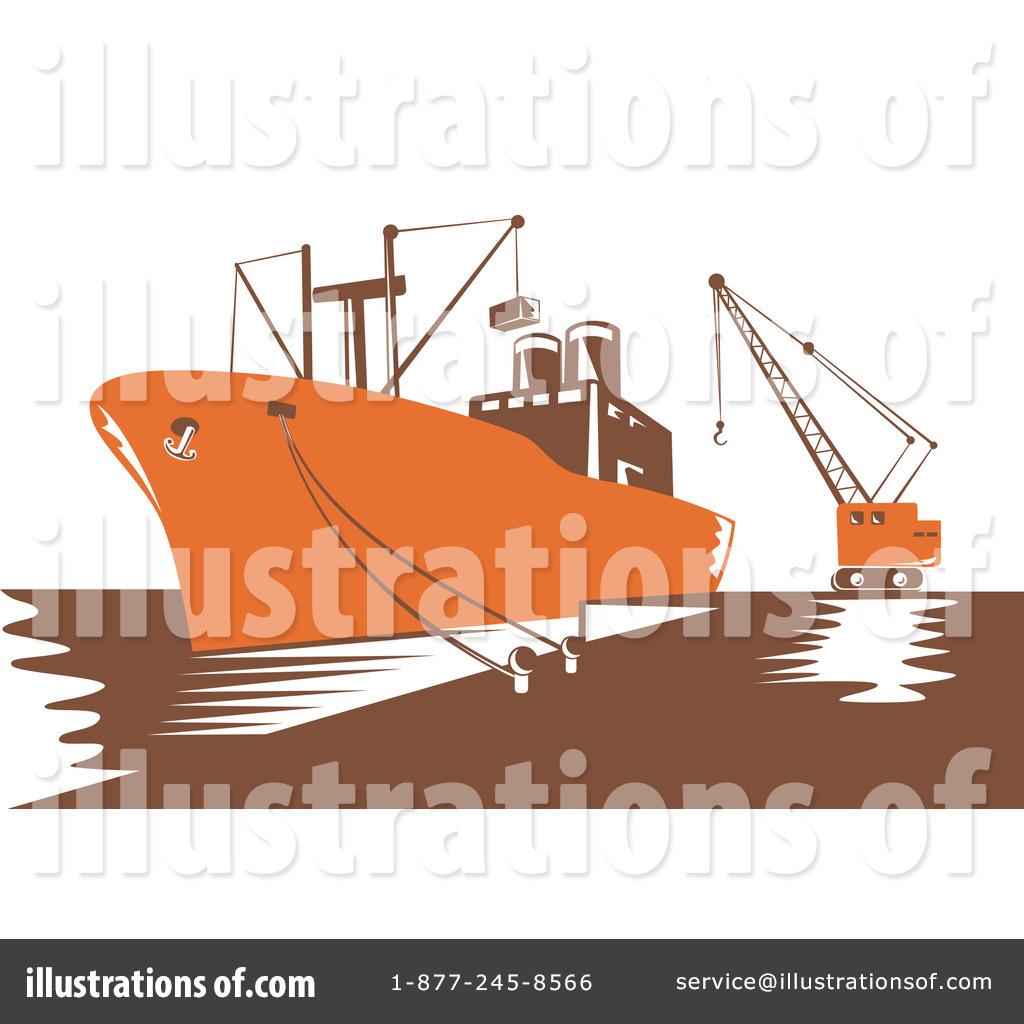 Cargo Ship Clip Art (rf) cargo ship clipart