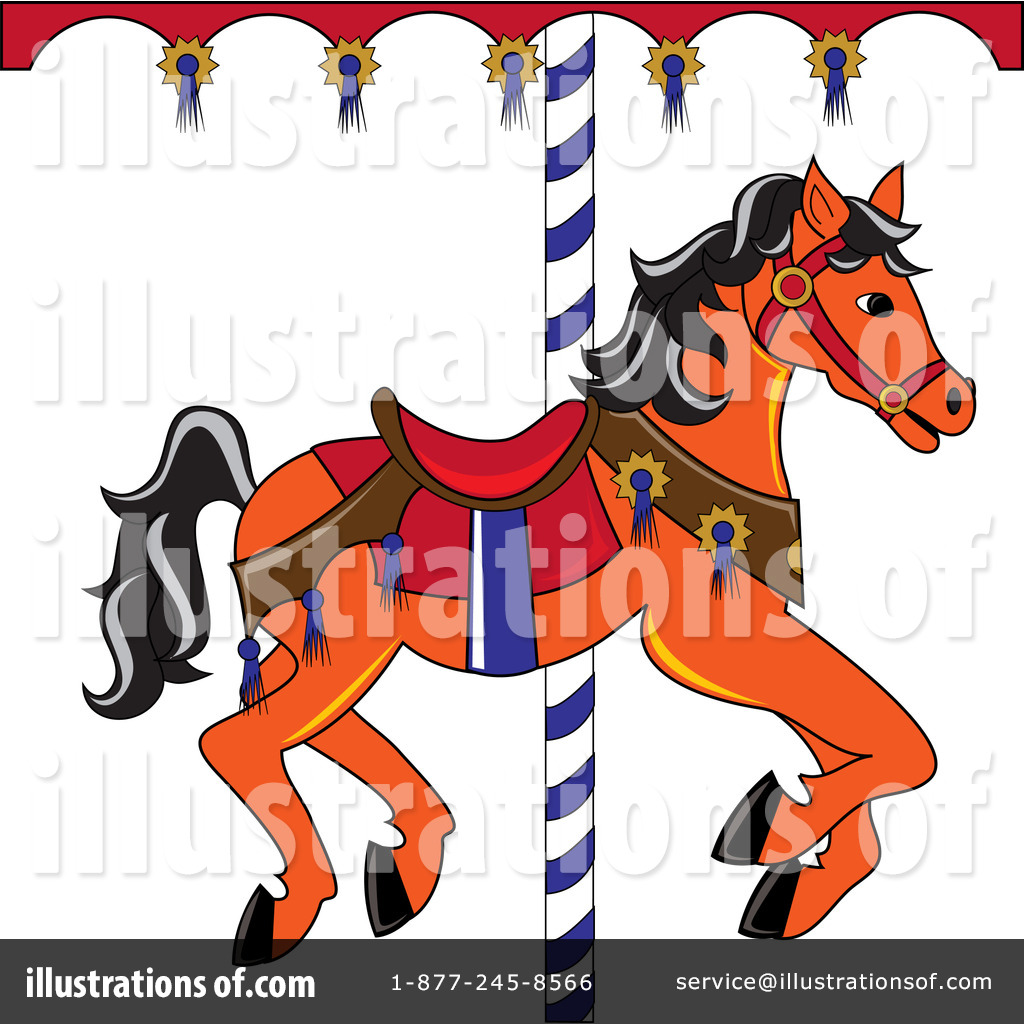 royalty-free-rf-carousel-horse-clipart-illustration-by-pams-clipart ...