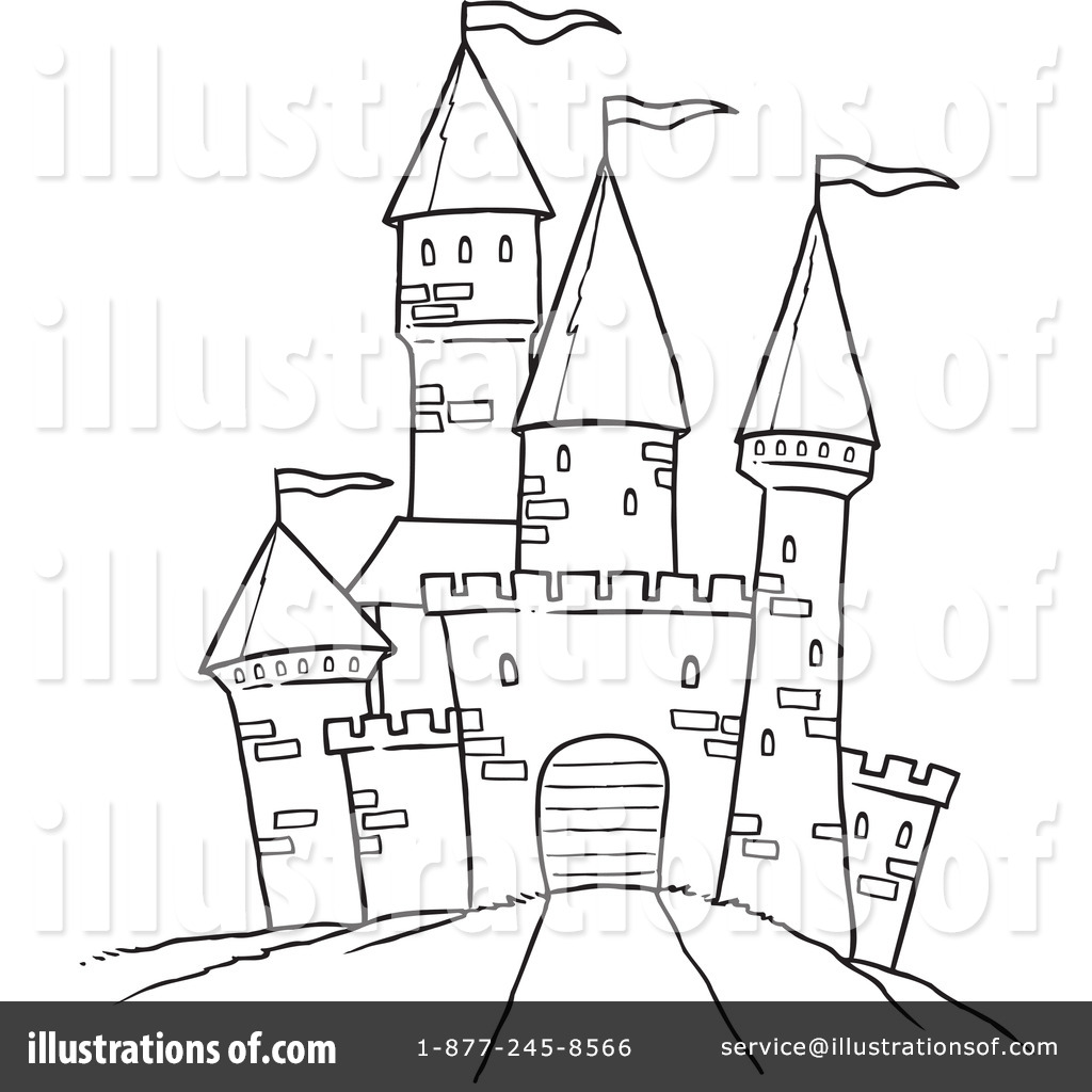 Clip Art Clipart Castle castle clipart 1045271 illustration by ron leishman royalty free rf leishman