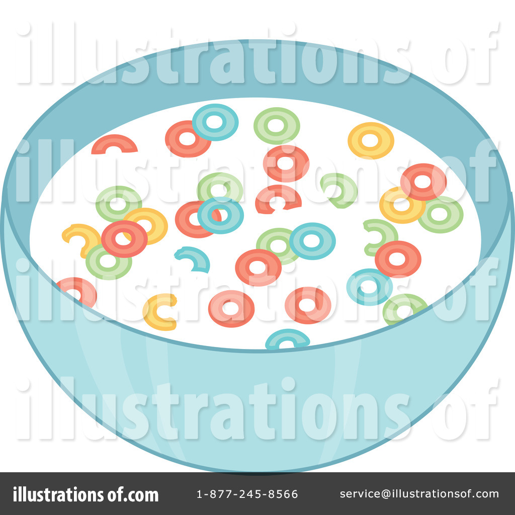 Cereal Clipart #73004 - Illustration by Rosie Piter