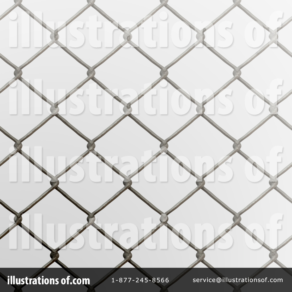 Chain link fence clipart illustration by arena