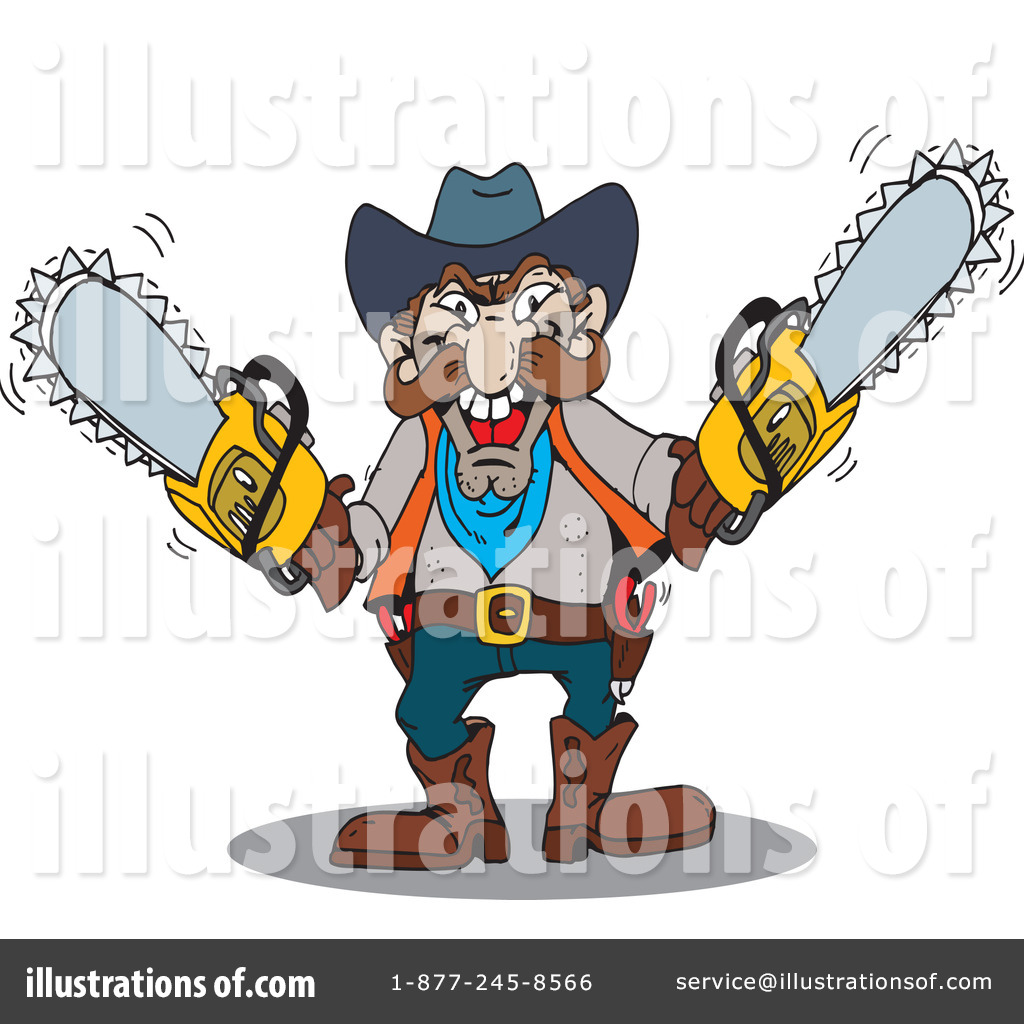 man with chainsaw clipart. royalty-free (rf) chainsaw clipart illustration by dennis holmes designs - stock sample man with c