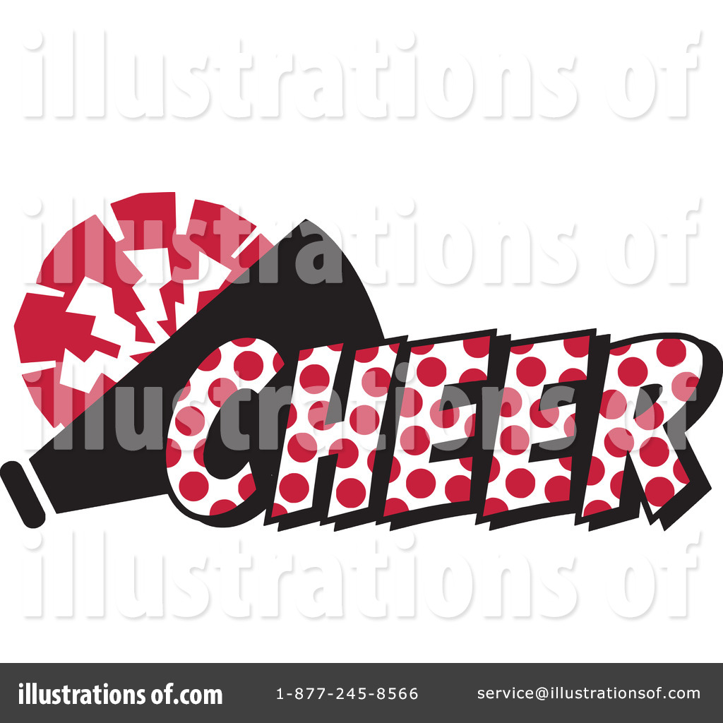 Royalty-Free (RF) Cheerleading Clipart Illustration #1200023 by Johnny ...