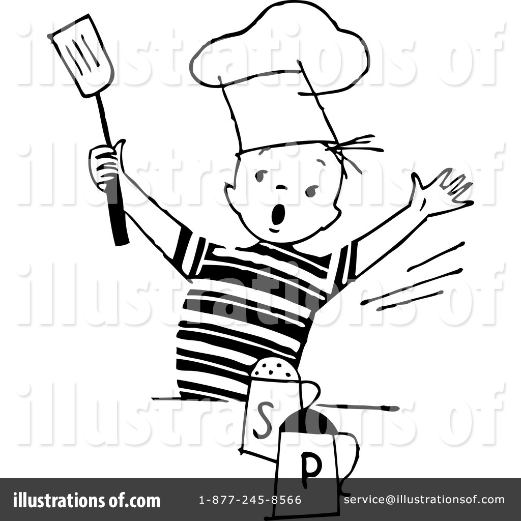 Royalty free rf chef clipart illustration by bestvector stock
