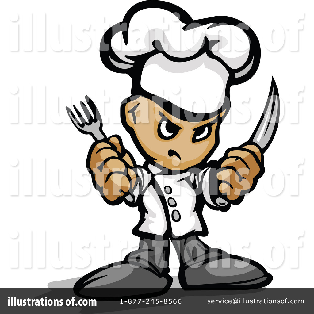 Royalty-Free (RF) Chef Clipart Illustration by Chromaco - Stock Sample ...