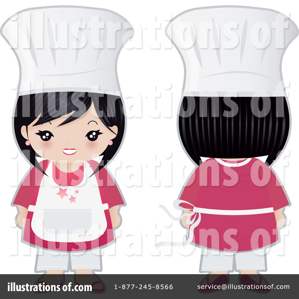 Royalty-Free (RF) Chef Clipart Illustration #74564 by Melisende Vector