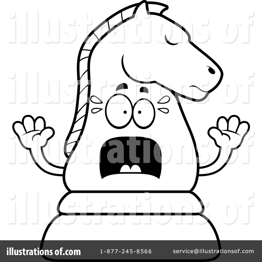 Chess Piece Clipart #1171351 - Illustration by Cory Thoman