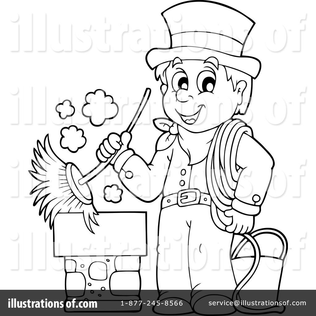 Royalty-Free (RF) Chimney Sweep Clipart Illustration by visekart ...