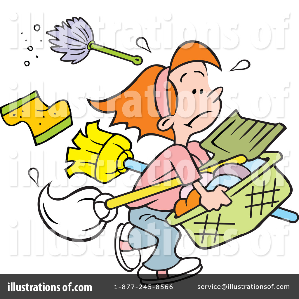 Royalty-Free (RF) Chores Clipart Illustration by Johnny Sajem - Stock ...