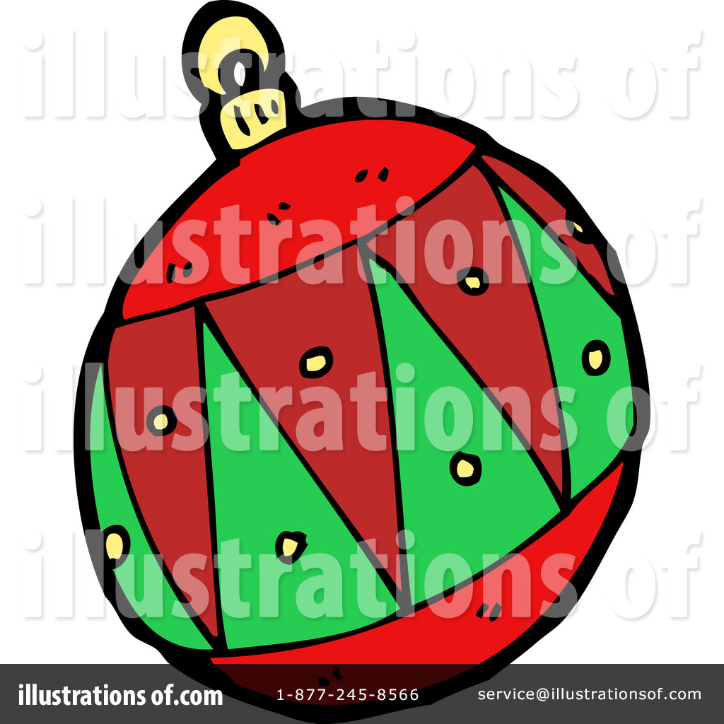 Christmas Bauble Clipart #1150140 - Illustration by lineartestpilot