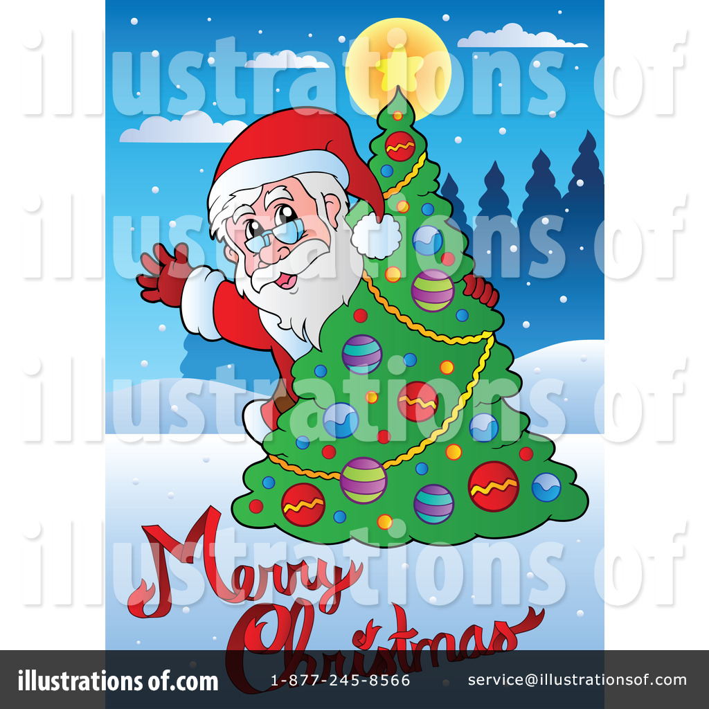 Royalty Free Rf Christmas Clipart Illustration By Visekart Stock