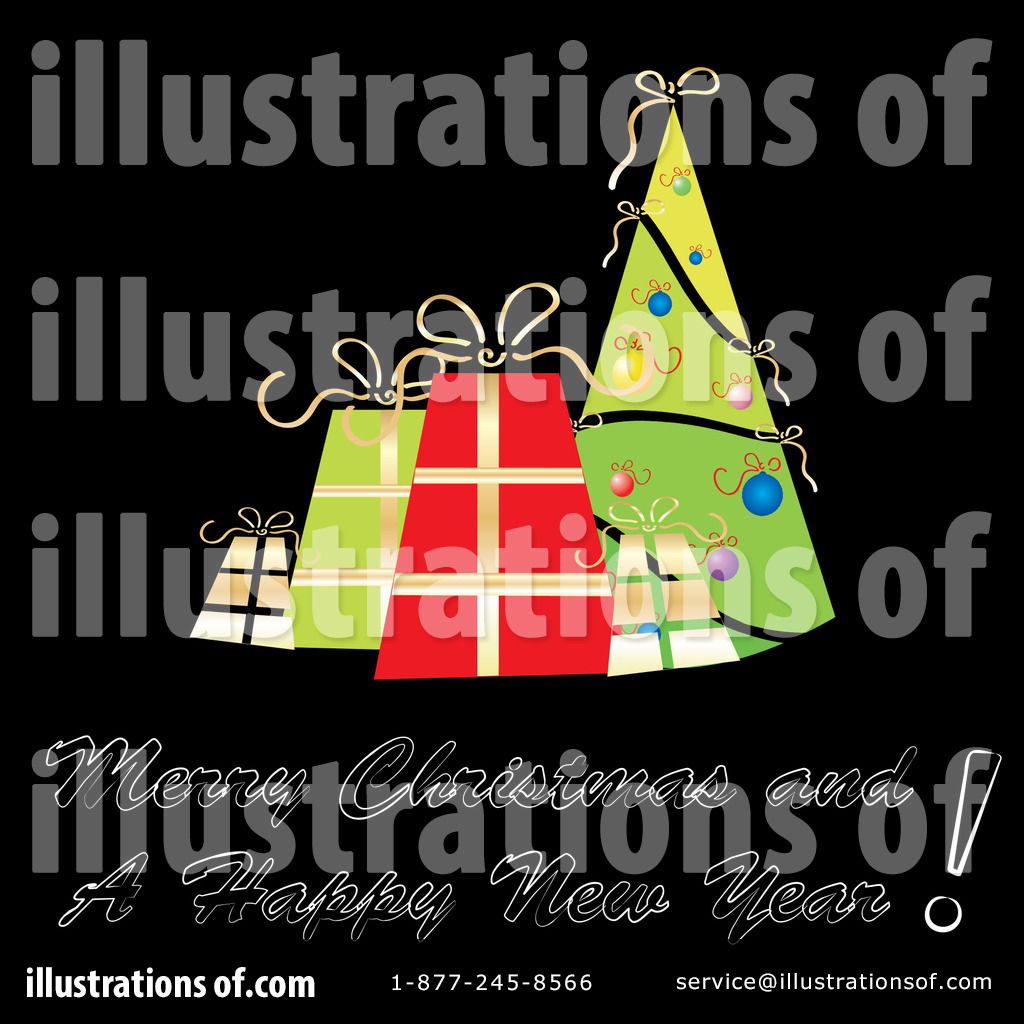 Christmas Greeting Clipart 58423 Illustration By Milsiart
