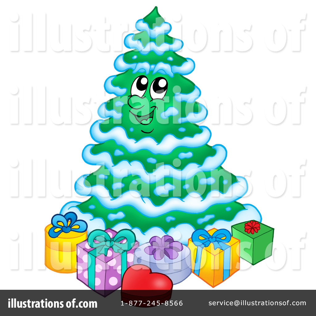 christmas tree clipart 221787 illustration by visekart