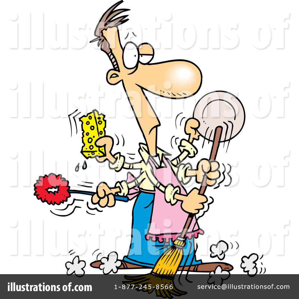 free clipart kitchen cleaning - photo #18