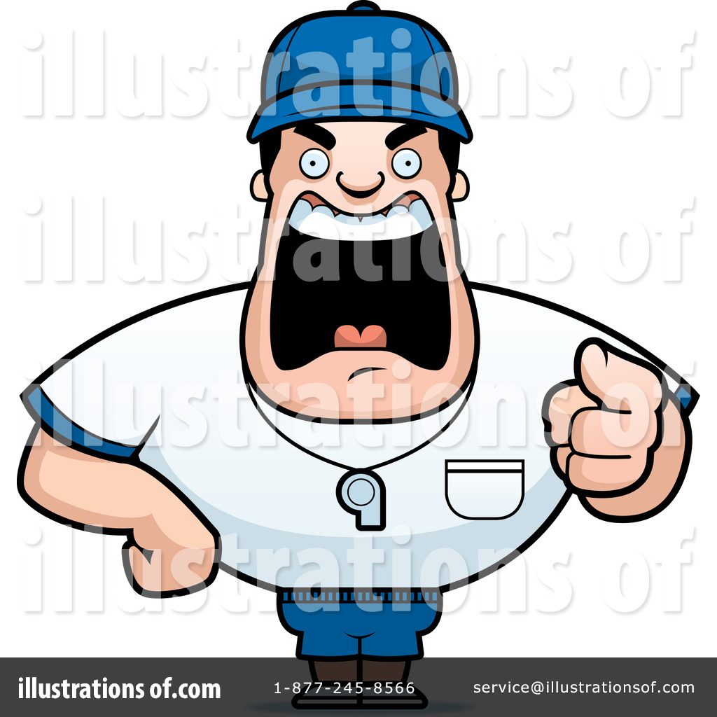 Coach Clipart #214649 by Cory Thoman   Royalty-Free (RF) Stock ...