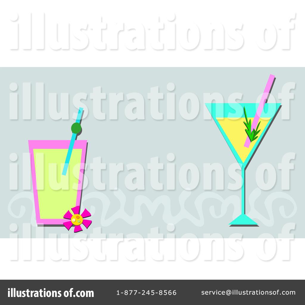 cocktail clipart 1189571 illustration by bpearth Cartoon Beach Clip Art Mexican Sun Clip Art Bathing