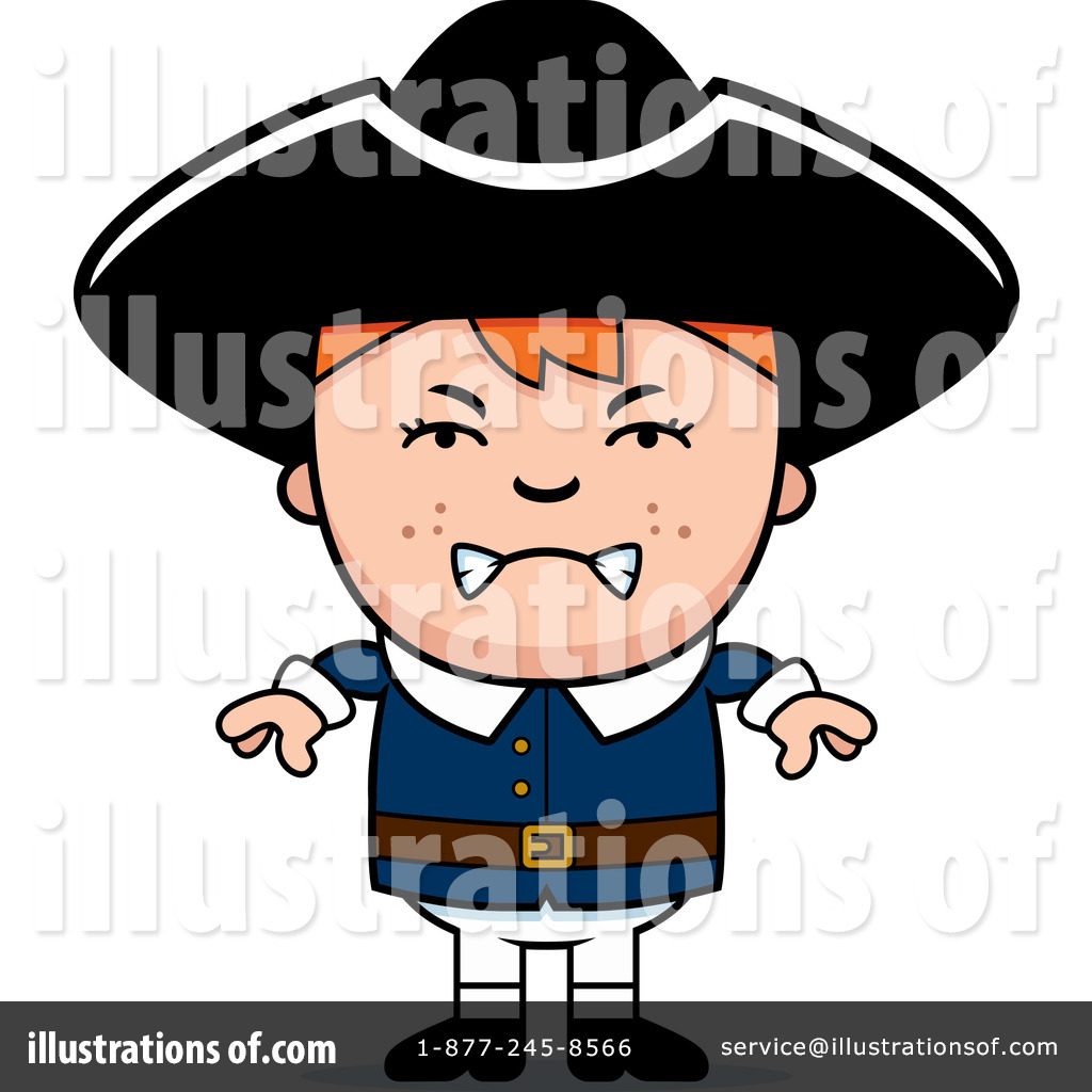 Colonial Clipart #1091464 - Illustration by Cory Thoman