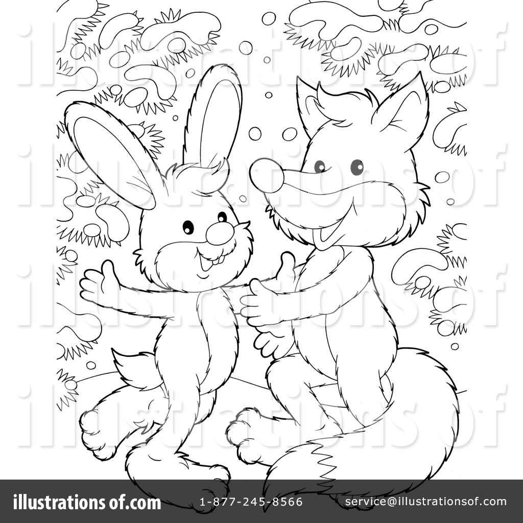 Coloring Page Clipart 104261