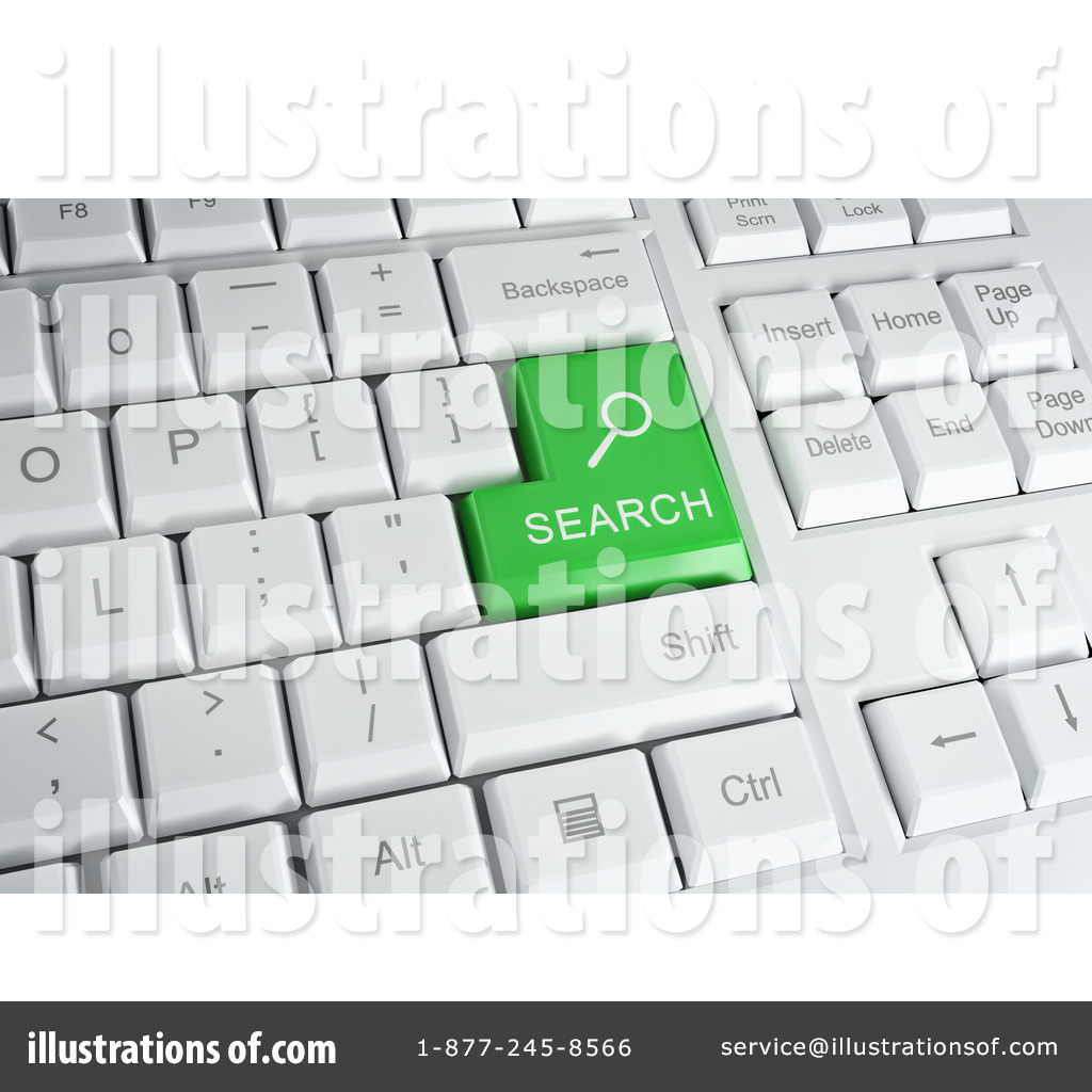 Royalty-Free (RF) Computer Keyboard Clipart Illustration by Mopic ...