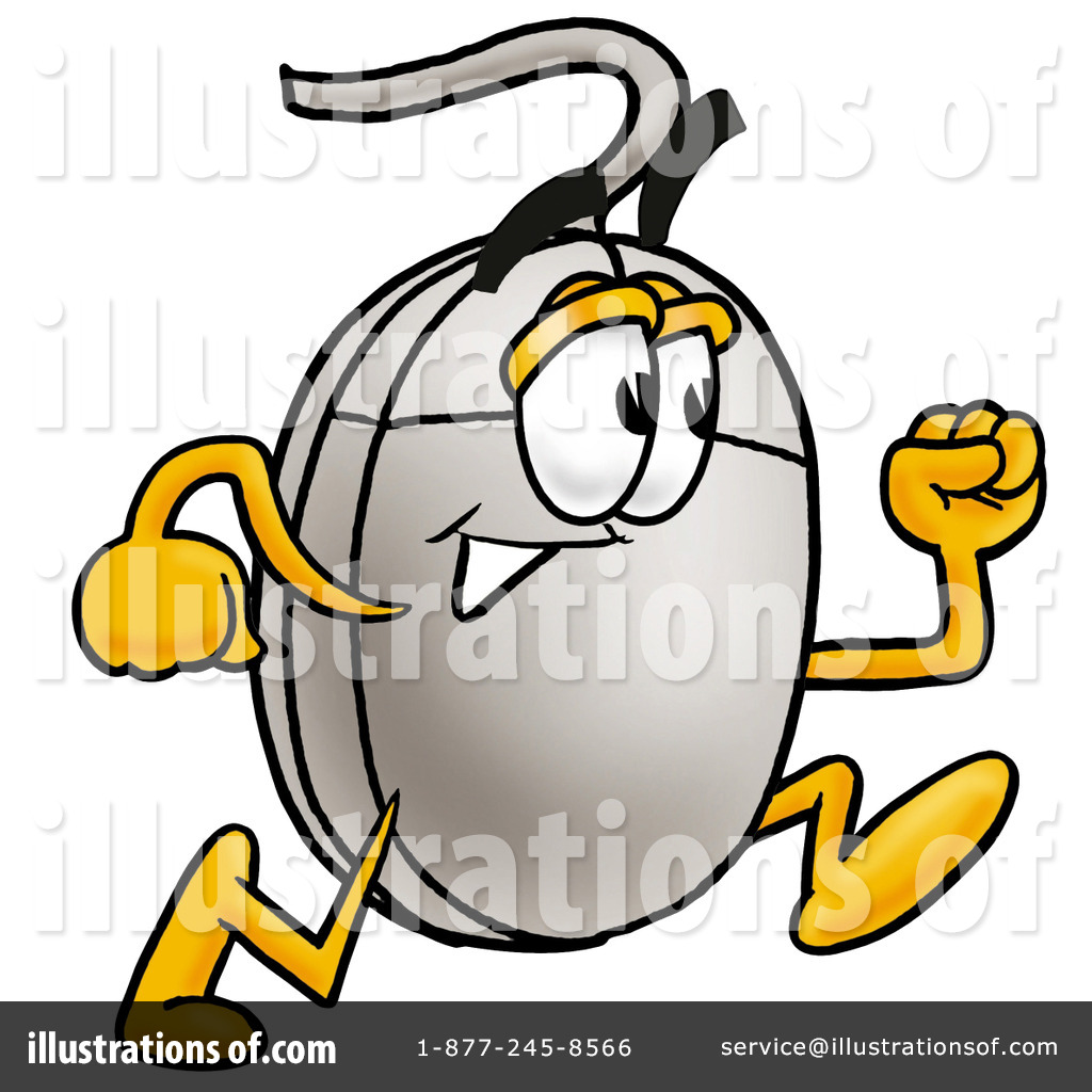 Computer Mouse Clipart #10000 - Illustration by Toons4Biz