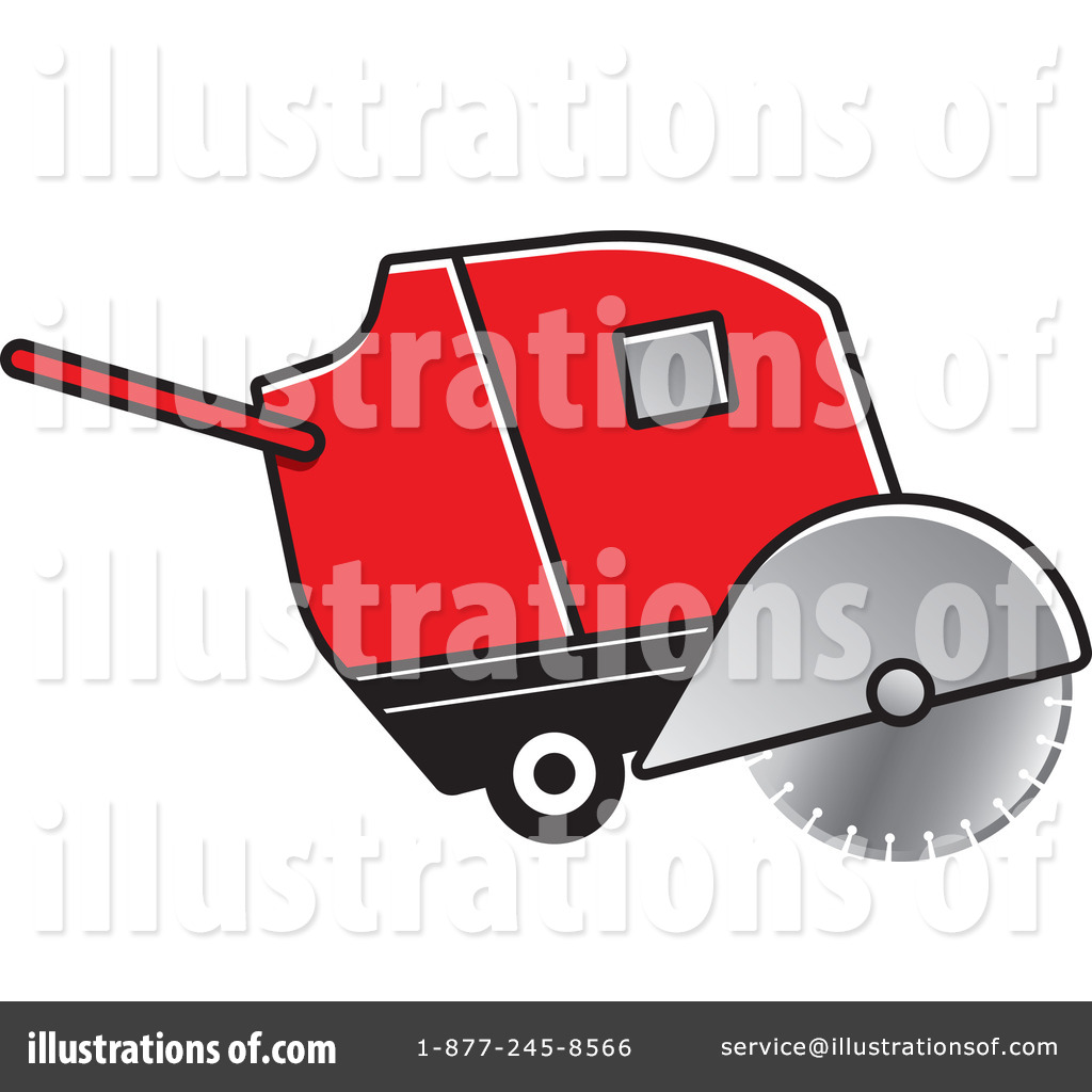 Concrete Cutting Clipart #1167491 - Illustration by Lal Perera