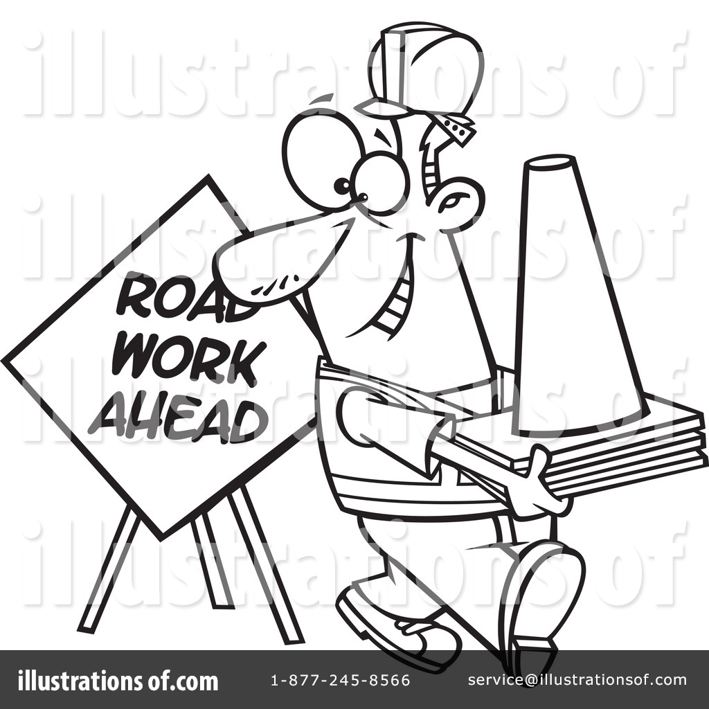 Royalty-Free (RF) Construction Clipart Illustration by Ron Leishman ...