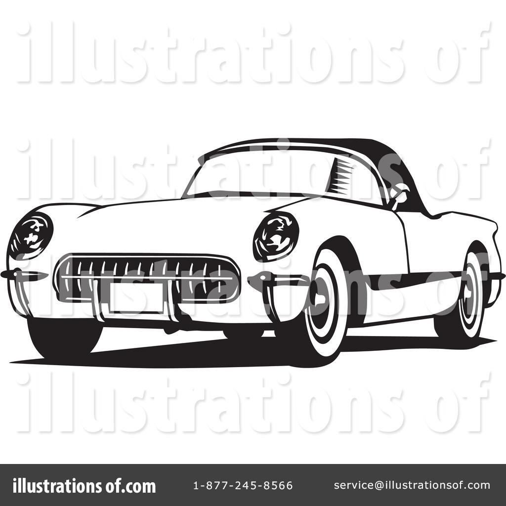 corvette clipart 26476 illustration by david rey rh illustrationsof com corvette clip art free corvette clip art black and white