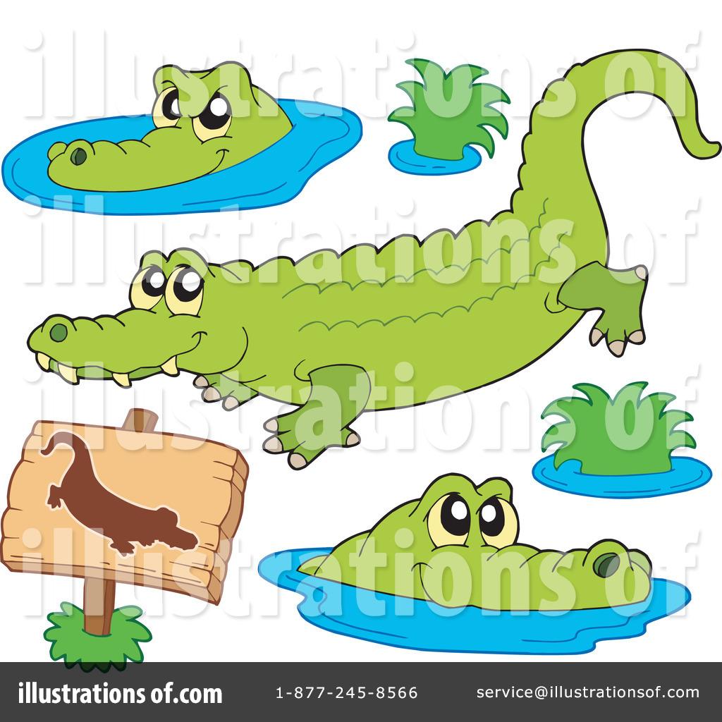 Crocodile Clip Art (rf) crocodile clipart
