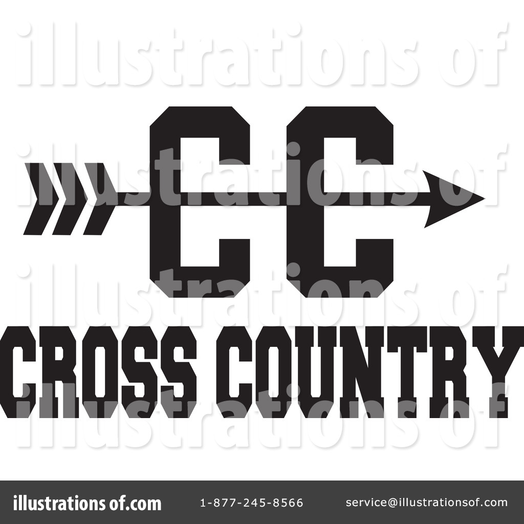Cross Country Clipart #1225940 - Illustration by Johnny Sajem