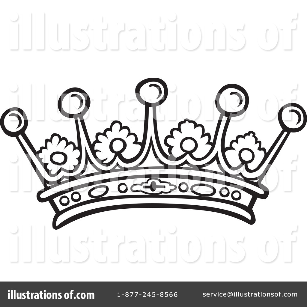 Royalty-Free (RF) Crown Clipart Illustration by dero - Stock Sample ...